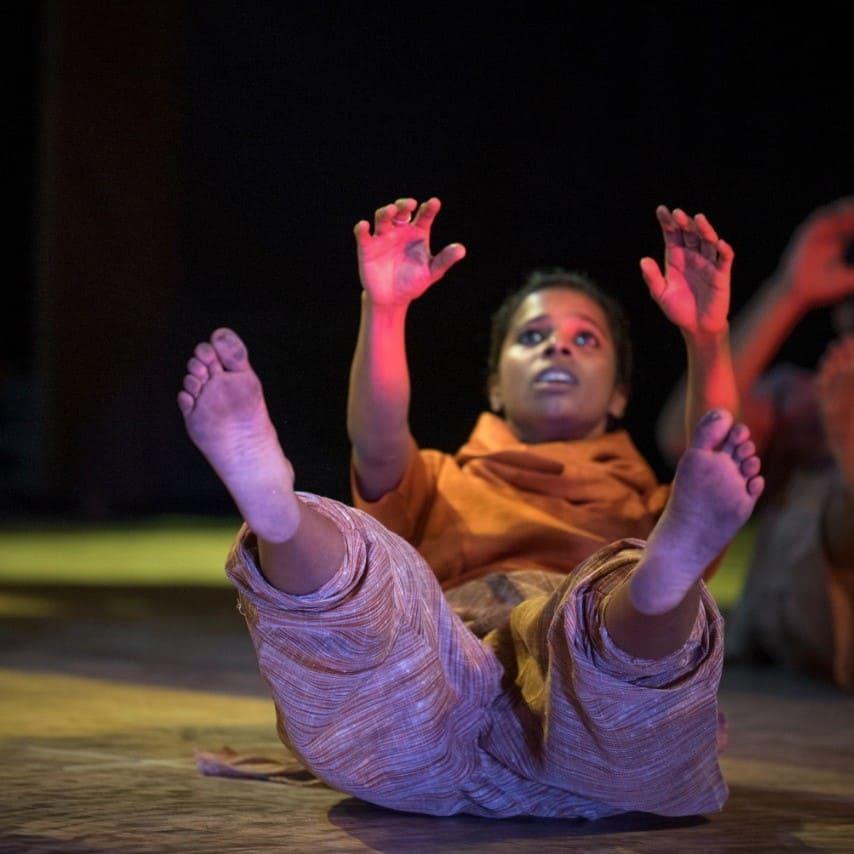Jessiya K George (tutor), Free style for Kids, LOKA studio for movement practices, Bangalore